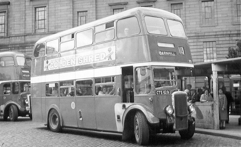 Bus No 10 To Barn Hill At The Bus Stance Shore Terrace